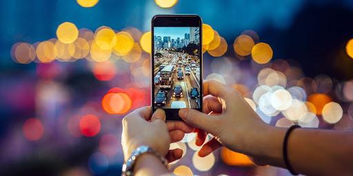fotografii cu telefonul mobil